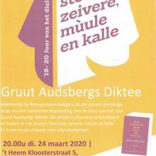 1ste Gruut Audsbergs Diktee