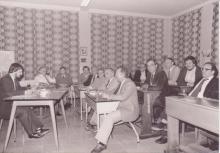 Vergadering van De Reengenoten in de beginjaren